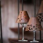 Weinglasschirm